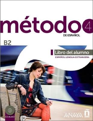 Metodo 4 Libro del Alumno B2+2 CD