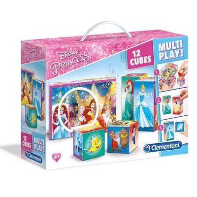 Clementoni Puzzle Multiplay Prenses 12 Küp 41504