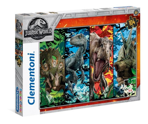 Clementoni Puzzle 104 2 Jurassic World (27099)