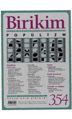 Birikim Dergisi Sayı 354