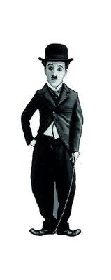 Charlie Chaplin Karikatür Ayraç - Aylak Adam Hobi