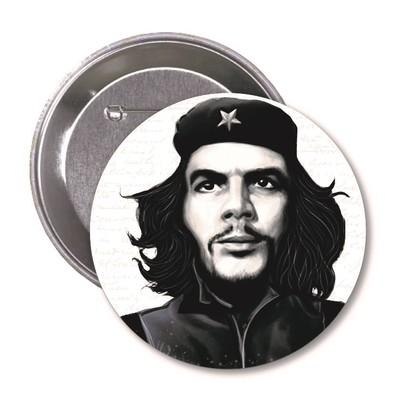 Aylak Adam Hobi-Che Guevara Karikatür Rozet