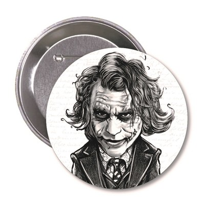 Aylak Adam Hobi-Joker Karikatür Rozet