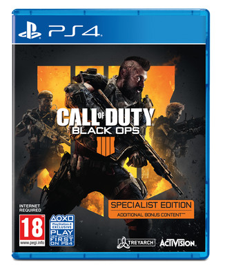 PS4 Call Of Duty Black Ops 4 Specialist Edition