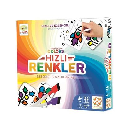 Lifestyle Kutu Oyun Hızlı Renkler 21917