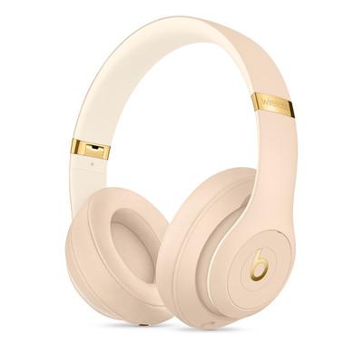 Beats Studio3 Wireless Headphones Desert Sand The Beats Skyline Collection MTQX2EE/A