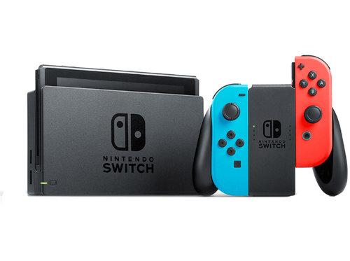 Nintendo Switch Konsol (Kırmızı/Mavi Joy-Con)