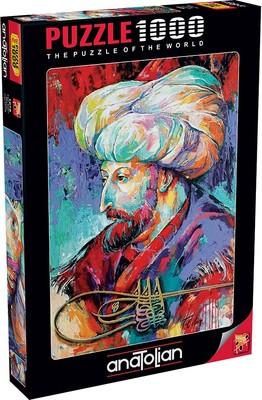 Anatolian Puzzle Fatih Sultan Mehmet 1000 Parça 1078
