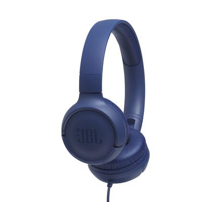 JBL Tune 500 Kulaklık, CT, OE, Mavi JB.JBLT500BLU