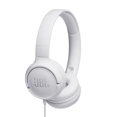 JBL Tune 500 Kablolu Kulak üstü Kulaklık - Beyaz JB.JBLT500