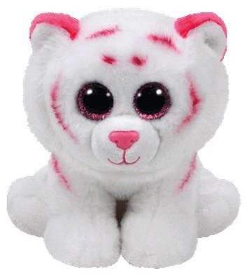 Ty-Pelüş-Tabor-Pink/White Tiger Med 25 cm