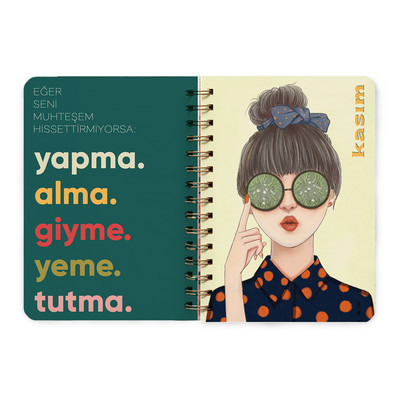 fabooks 2019 Pembe Ajanda