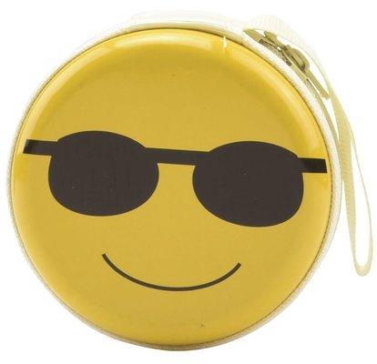 Bohong Mini Fermuarlı Kutu Gözlüklü Emoji