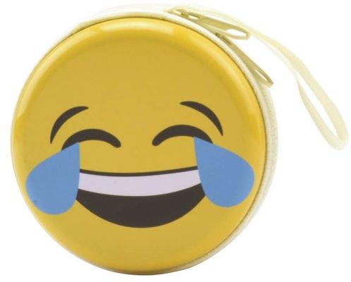 Bohong Mini Fermuarlı Kutu Gülmekten Ağlayan Emoji