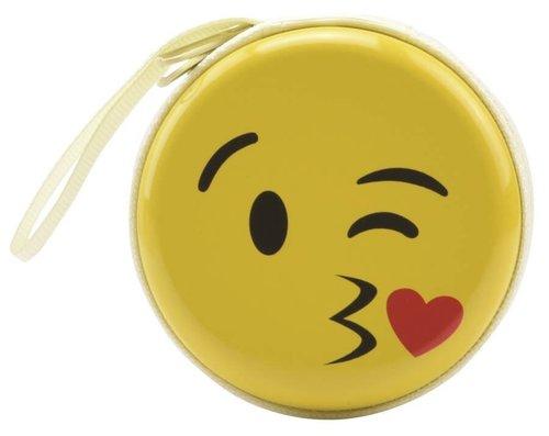 Bohong Mini Fermuarlı Kutu Öpücük Emoji