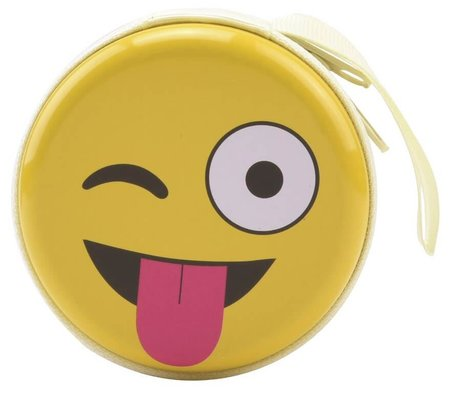 Bohong Mini Fermuarlı Kutu Muzip Emoji