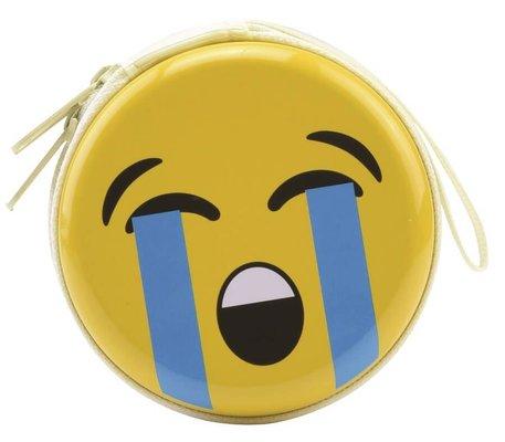 Bohong Mini Fermuarlı Kutu Ağlayan Emoji