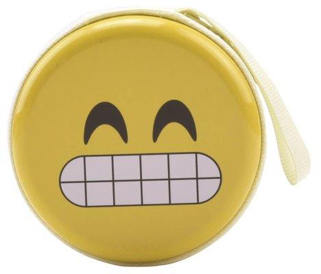 Bohong Mini Fermuarlı Kutu 32 Diş Emoji