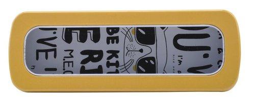 Bohong Metal Kalem Kutu Sarı