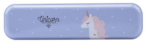 Bohong Metal Kalem Kutu Mavi Unicorn