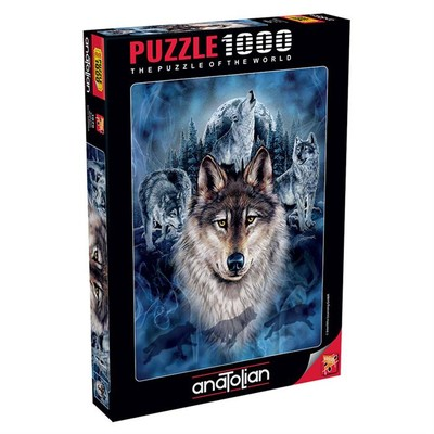 Anatolian Puzzle 1000 Parça Kurt Timi 1079