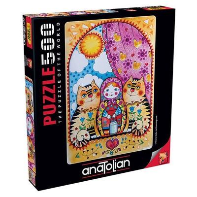 Anatolian Puzzle 500 Parça Matruşka 3606