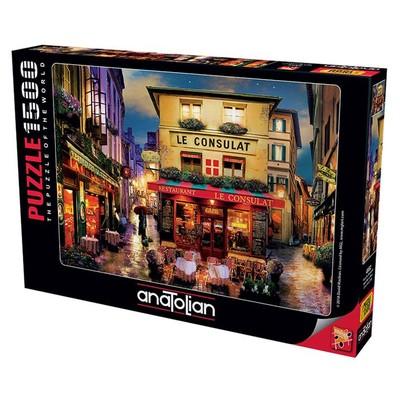 Anatolian Puzzle 1500 Parça Paris'de Buluşalım 4552