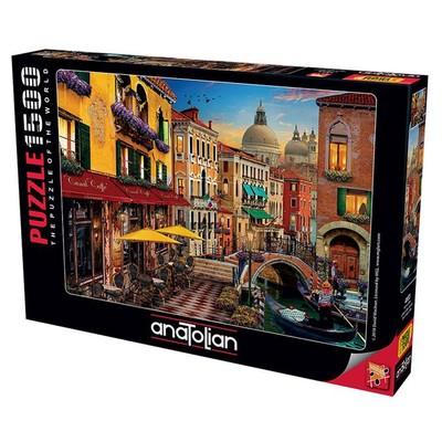 Anatolian Puzzle 1500 Parça Kanal Cafe 4553