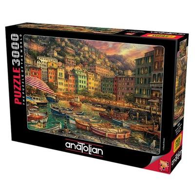 Anatolian 3000 Parça Puzzle İtalya'dan Titreşimler 4914