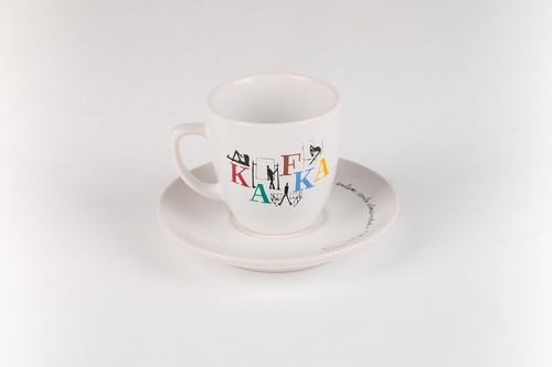 Can Dükkan Kafka Kahve Fincanı (Fincan+Tabak)