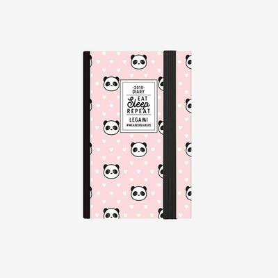 Legami Ajanda Mini Haftalık Panda 2019