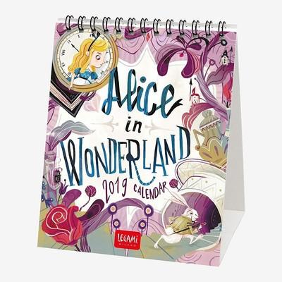 Legami Masa Takvimi Alice In Wonderland 12x14,5 2019