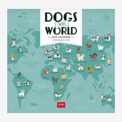 Legami Duvar Takvimi Köpeklerin Dünyası 30x29 2019