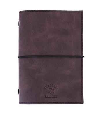 LeColor Leather El Yapımı Defter Kahverengi