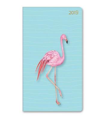 LeColor Ajanda Haftalık Tropic Flamingo 12x21