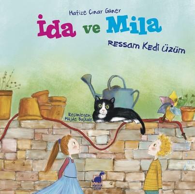 İda ve Mila-Ressam Kedi Üzüm