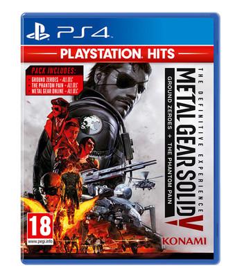 Metal Gear Solid V Definitive Exp Ps Hits