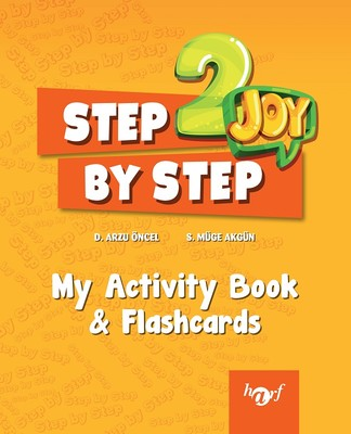 Step By Step Joy English 2. Sınıf English My Activity Book and Flashcards