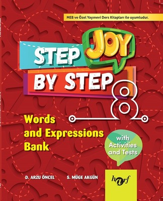 Step By Step Joy 8.Sınıf English Words and Expressions Bank