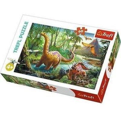 Trefl-Puzzle 60 Dinosaur Migration 17319