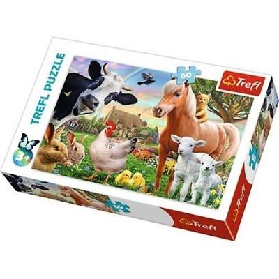 Trefl-Puzzle 60 A Cheerful Farm 17320