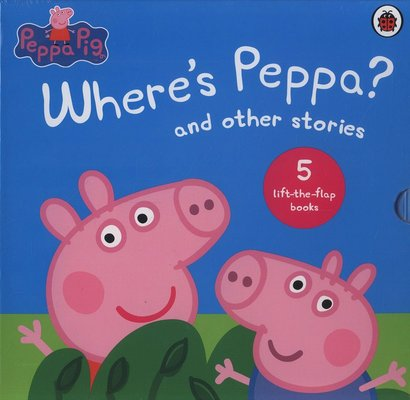 Where's Peppa? Lift the Flap Collection