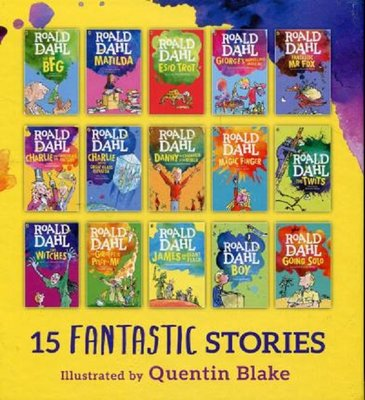 Roald Dahl 15 book Story Collection