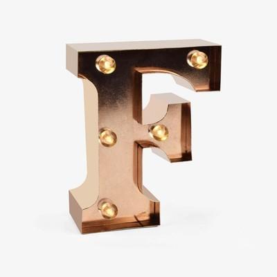 Legami Işıklı Harf - F