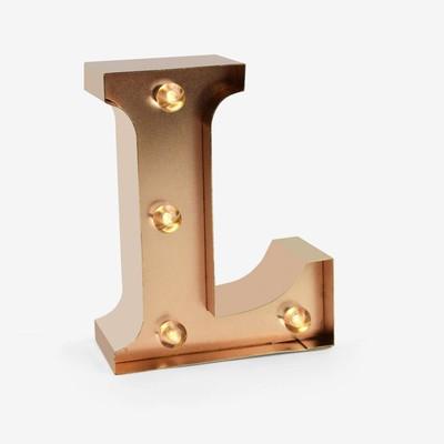 Legami Işıklı Harf - L