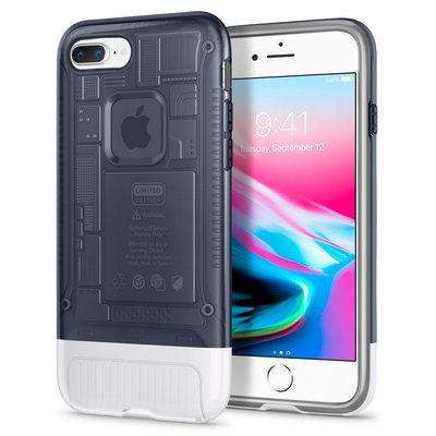 Spigen iPhone 7 Plus/8 Plus Kılıf Classic C1 - iPhone 10.Yıla Özel Tasarım Kılıfı