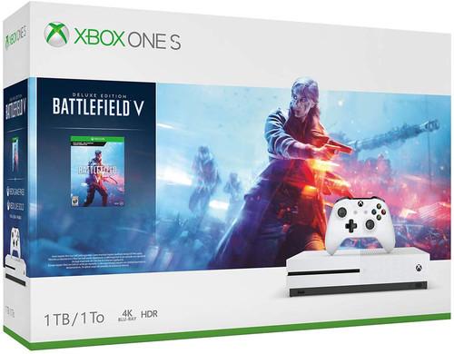 Xbox One S 1 TB Konsol + Battlefield 5