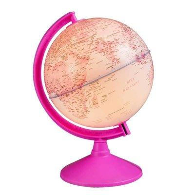 Gürbüz Işıklı Pembe Küre 20cm