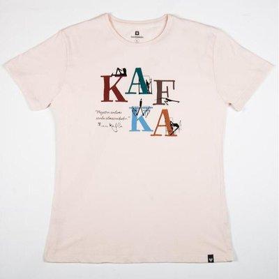 Can Dükkan T-Shirt Erkek L Kafka (Yazı)
