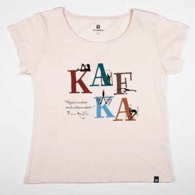 Can Dükkan T-Shirt Kadın M Kafka (Yazı)